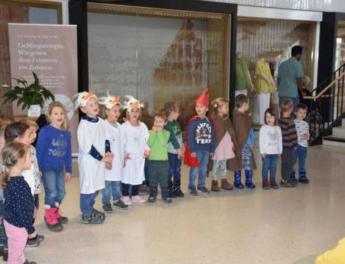 Kindergarten Übersaxen besucht das Haus Klosterreben